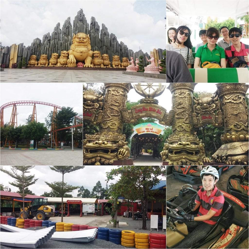 สวนสนุก Khu du Lich Suoi Tien