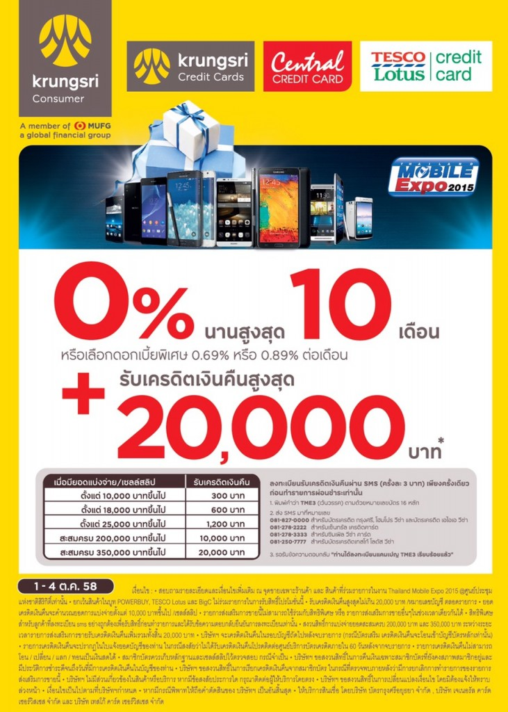 Promotion บัตร Central Card งาน TME 2015