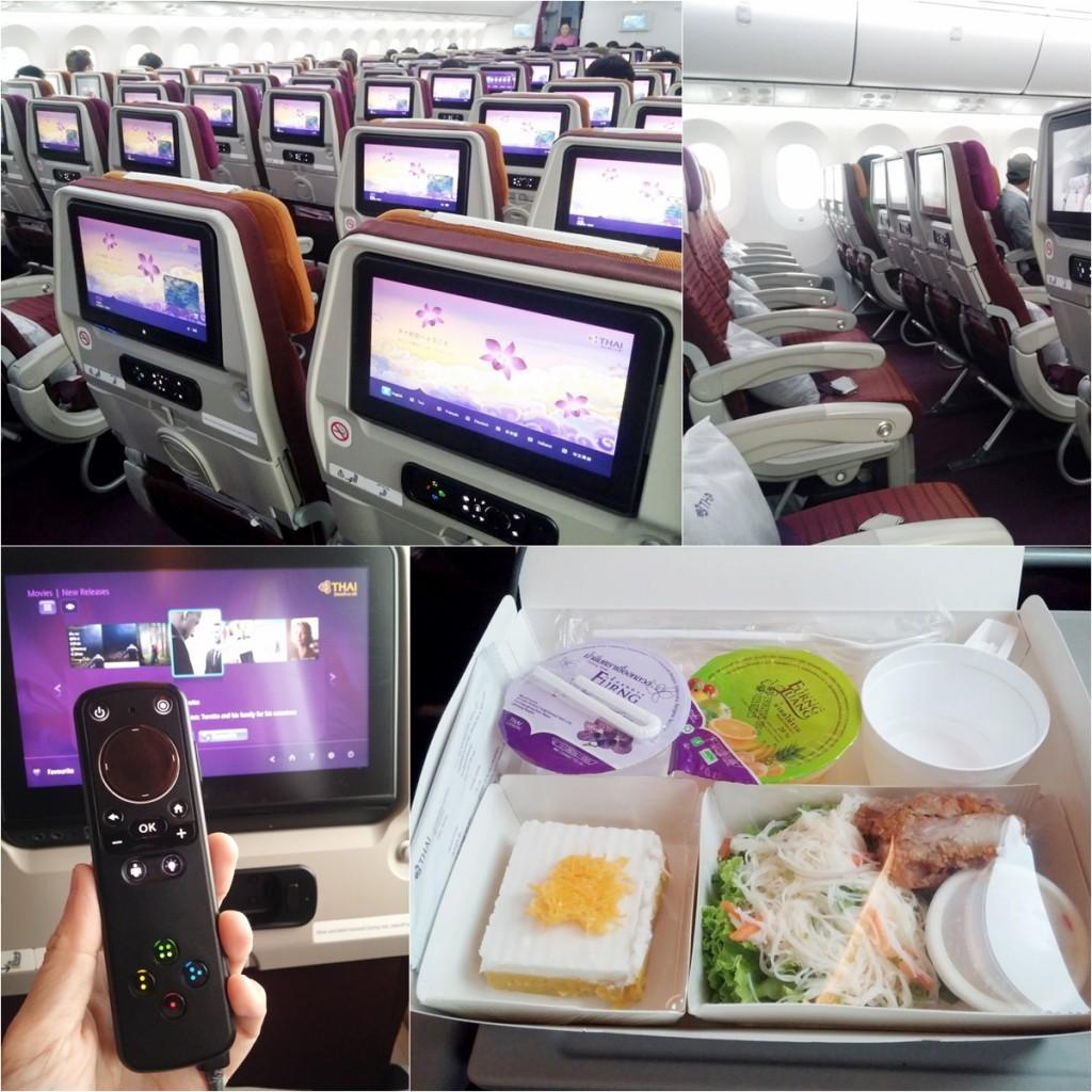 TG Flight Bkk-Hanoi