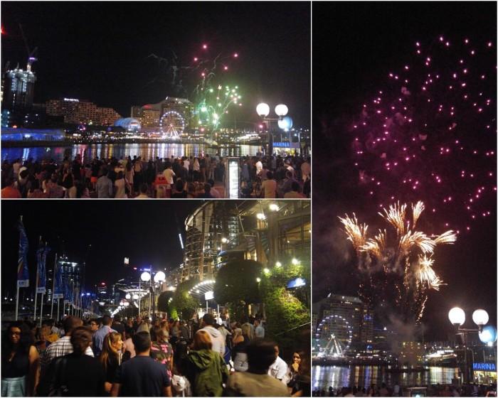 Darling Harbour - Fireworks