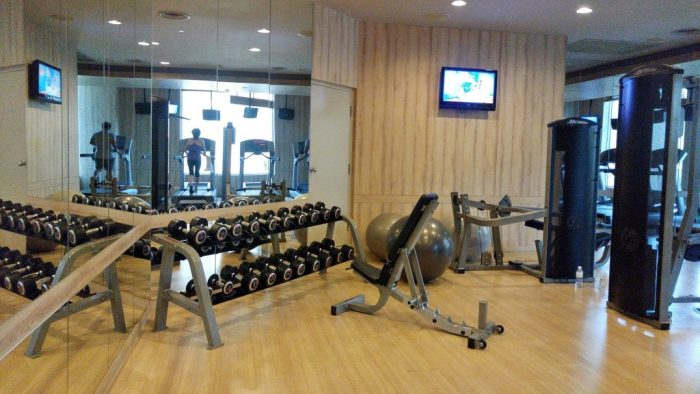 Fitness Room at Holiday Inn