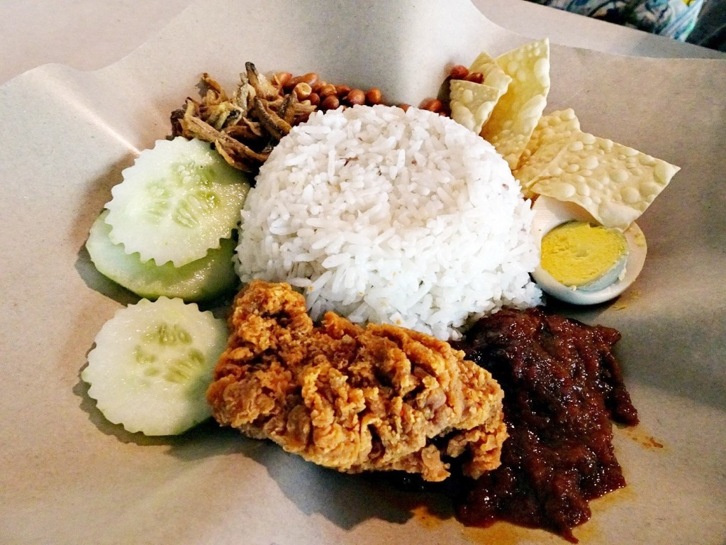 Nasi Lemak at Old Town White Coffee