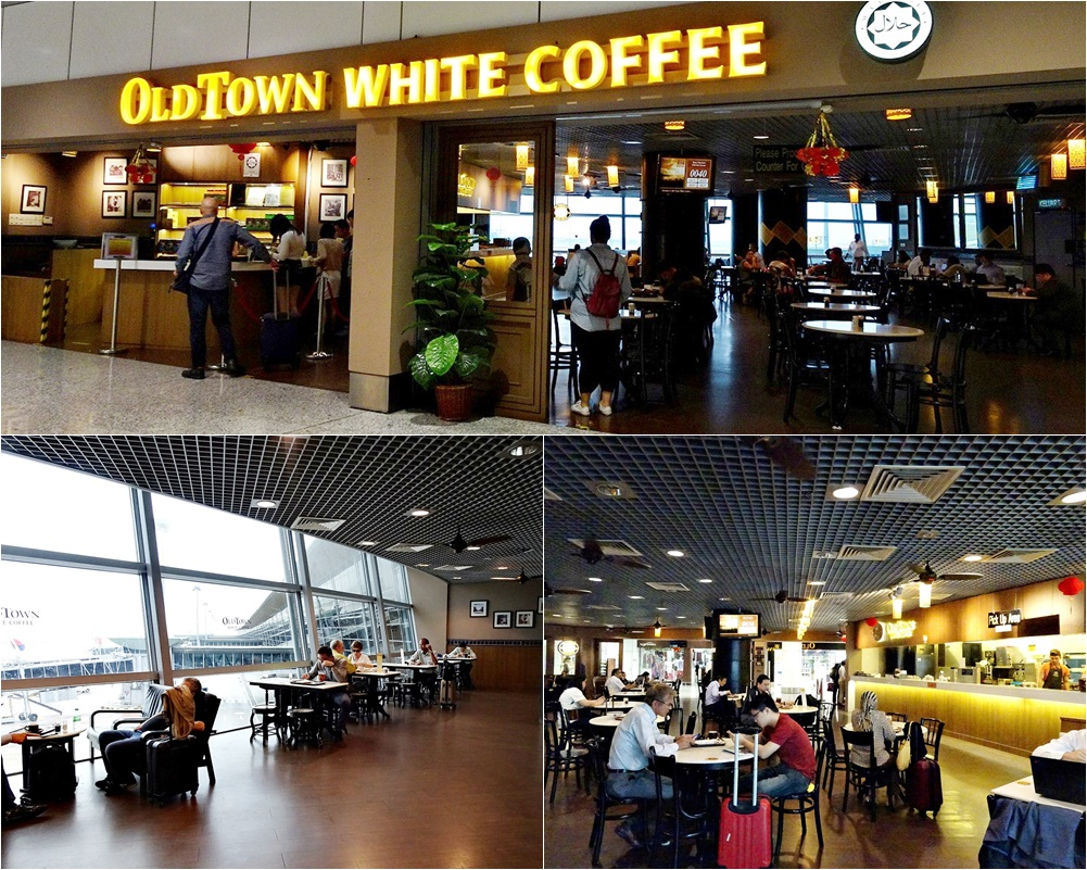 Old Town White Coffee at KLIA