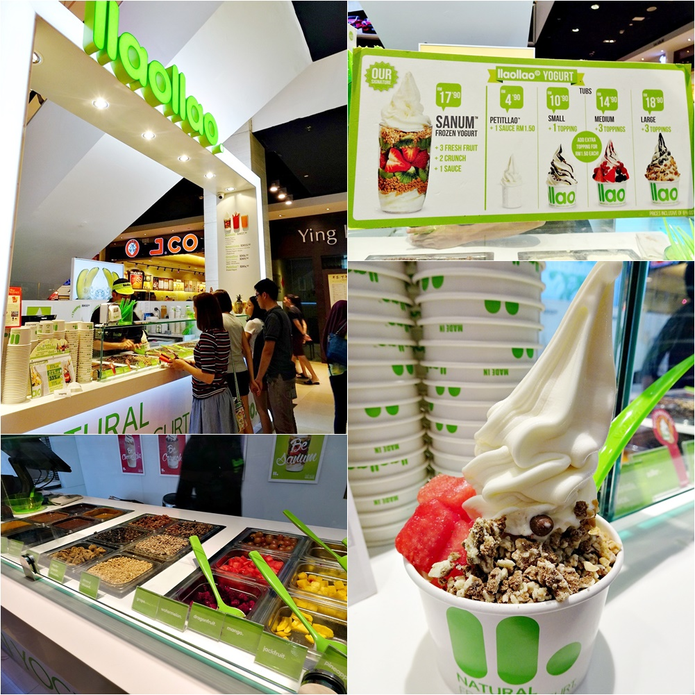 llaollao at Pavilion, KL, Malaysia
