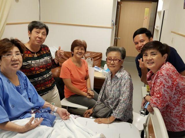 บันทึกการรักษามะเร็งเต้านมของแม่ @รพ.รามาธิบดี