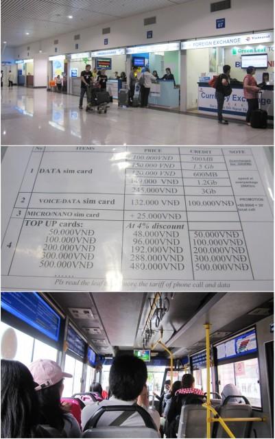 2. Vietnam Airport & Bus