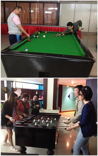 Pool & Football