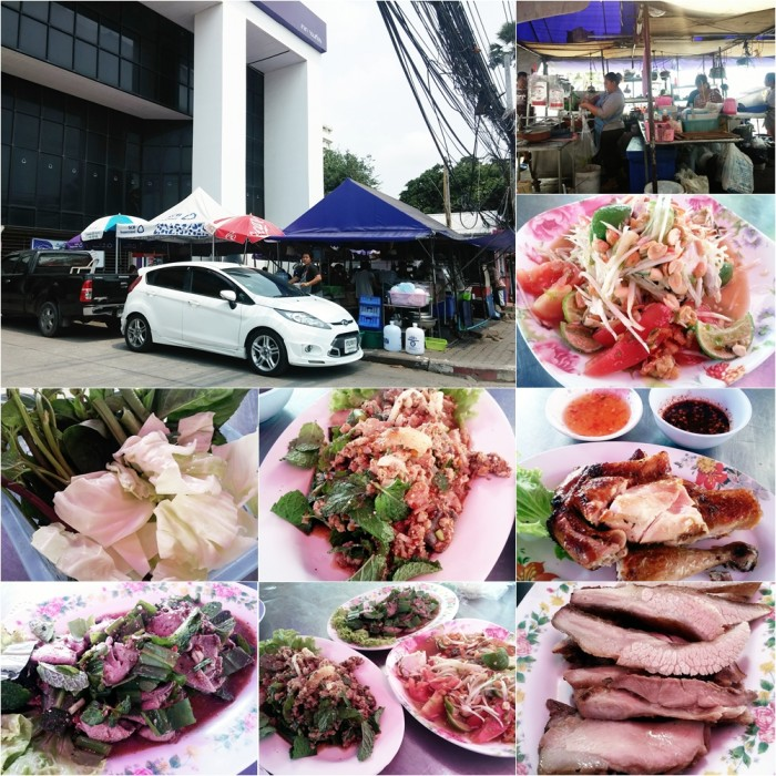 Pattaya 20-22 Mar 2015 - ส้มตำเจ๊ไพหน้าธ.ไทยพาณิชย์