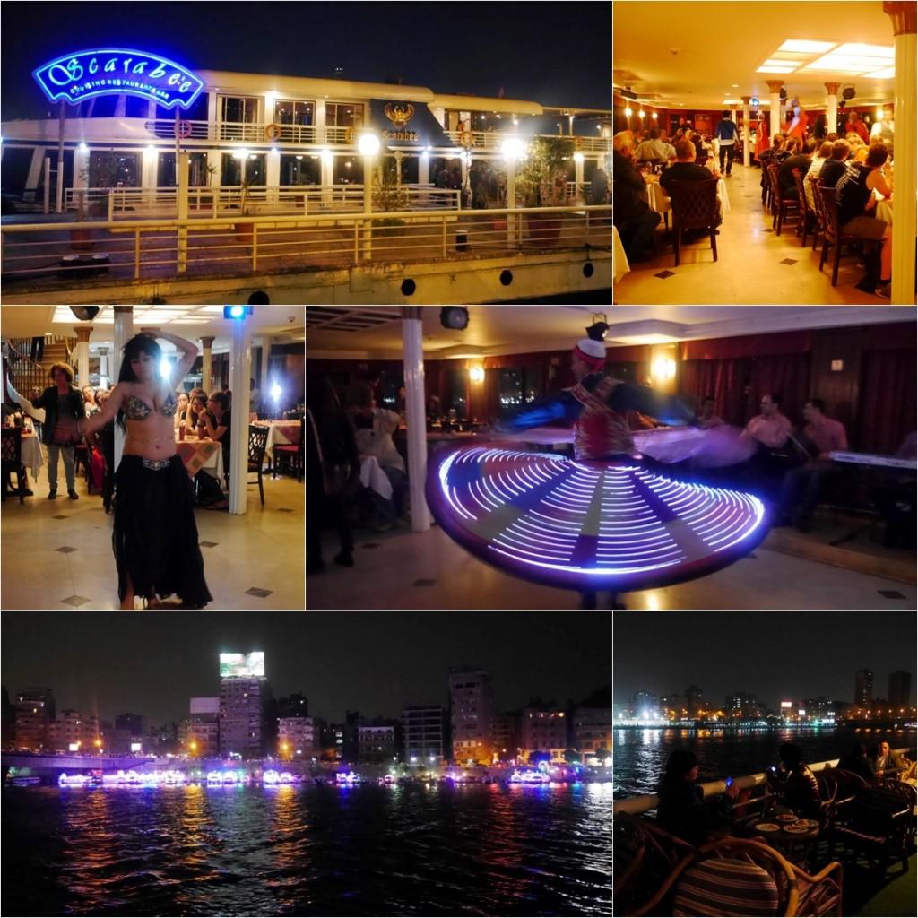 Cruises along Nile River in Egypt