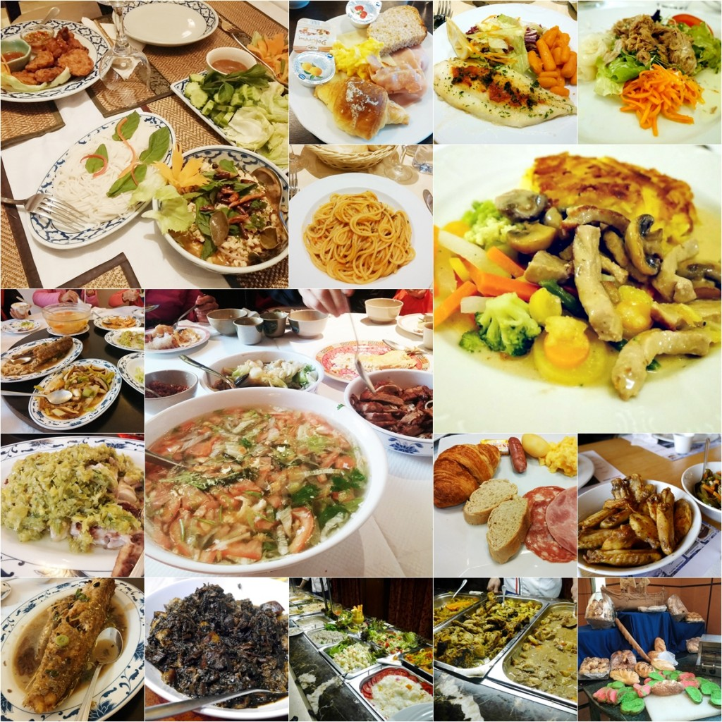 Food in Europe and Egypt