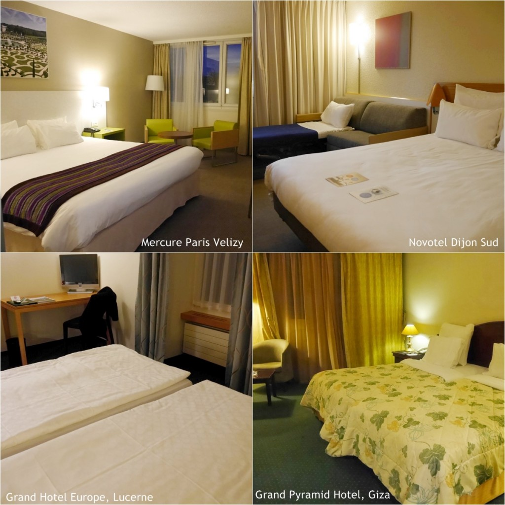 Hotels in Europe & Egypt