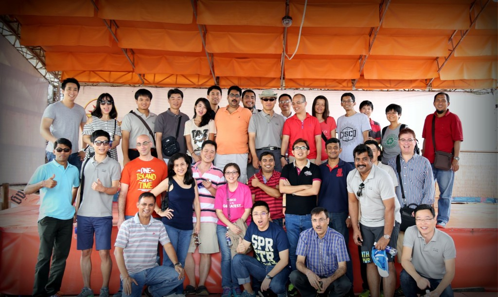 Cisco GSP Team in HCM