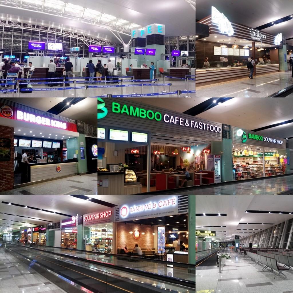Noibai Airport Departure