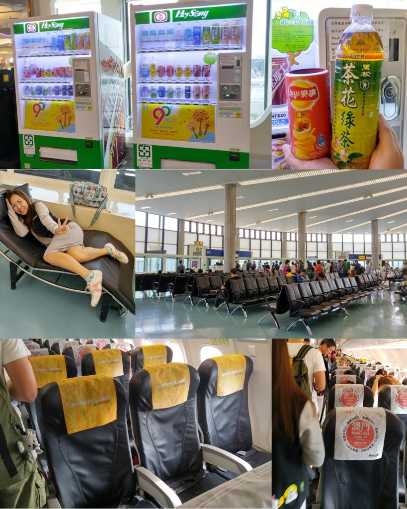 Wait for boarding at Thao Yuan Airport