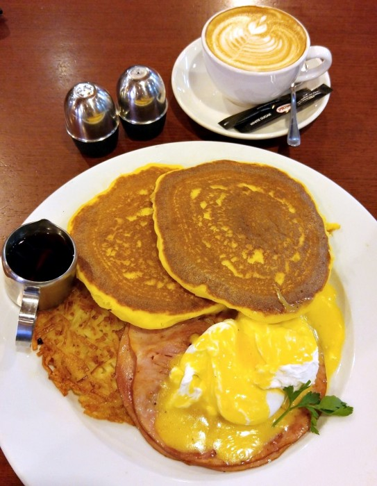 Pancake on the Rocks