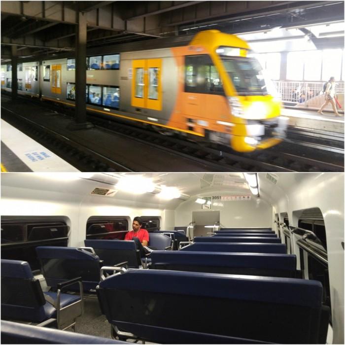 Train in Sydney