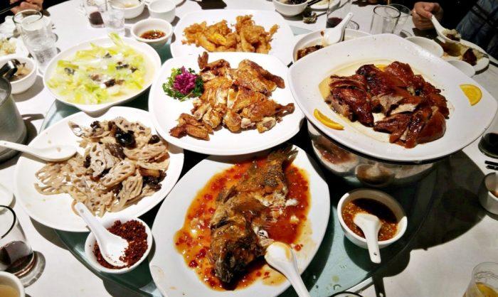 Dinner in Zhuhai