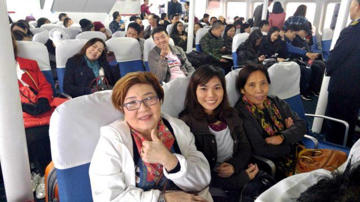 Ferry to Hongkong