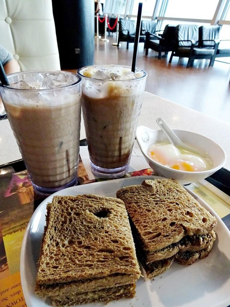 Kaya Toast Set at Old Town White Coffee